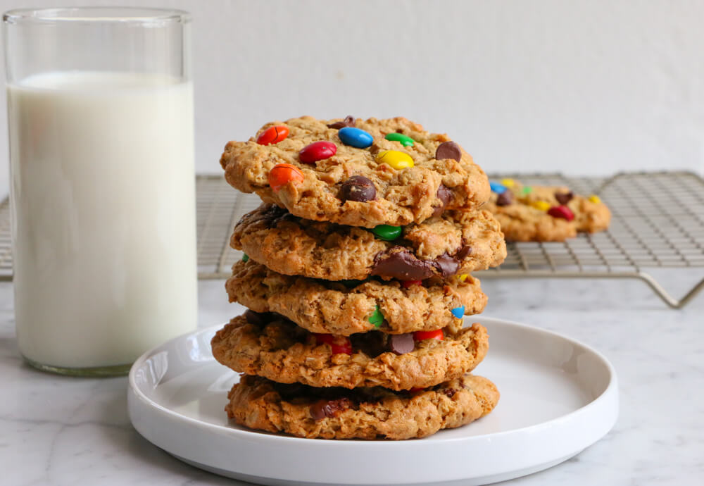 Gluten Free Monster Cookies without Peanut Butter