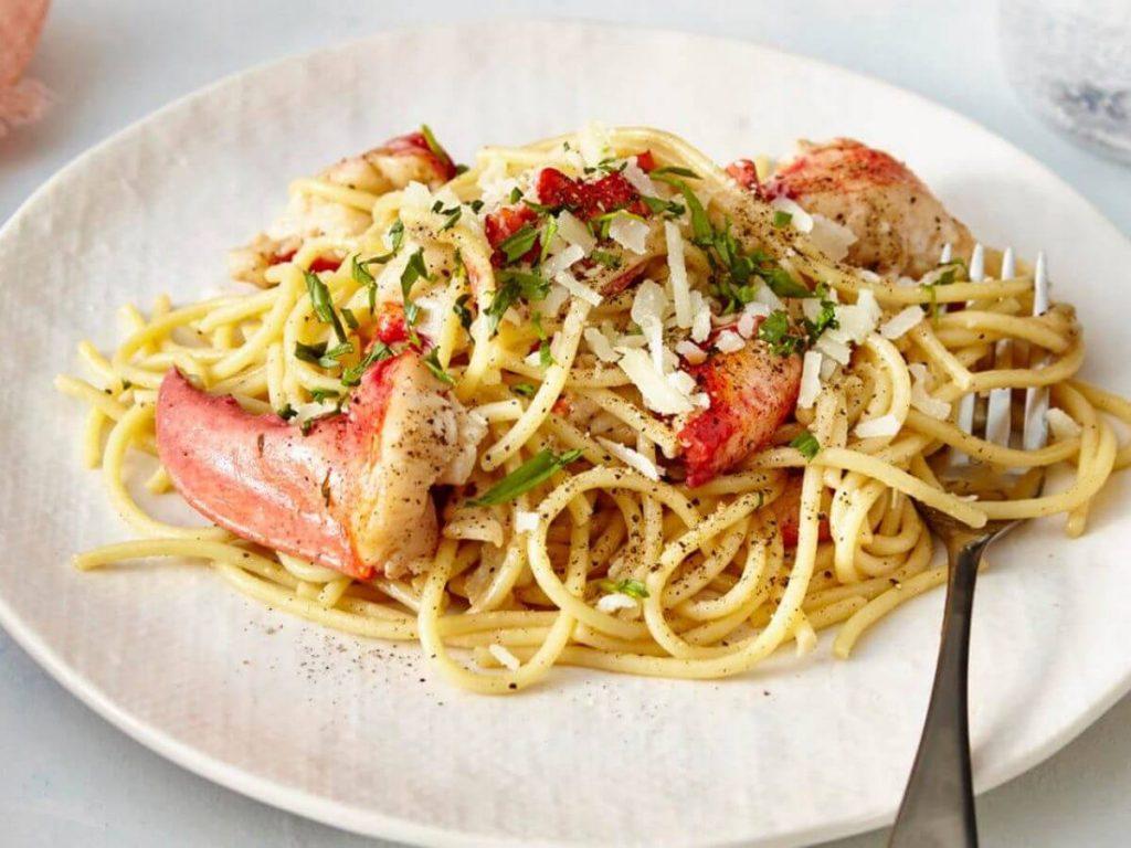 Gordon Ramsay Lobster Capellini
