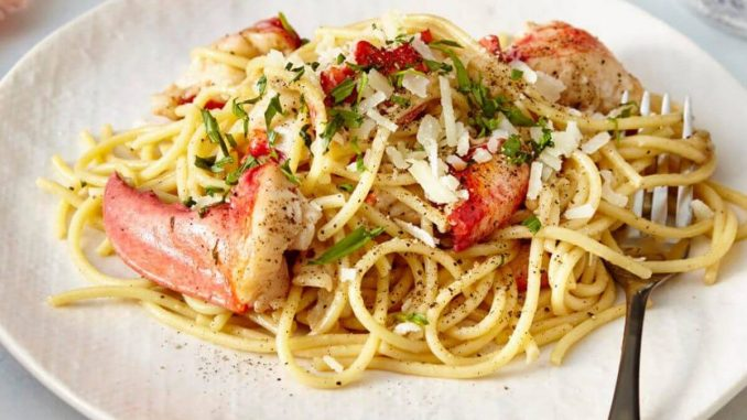 Gordon Ramsay Lobster Capellini
