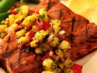 Grilled Ginger Salmon With Pineapple Chipotle Glaze Recipe