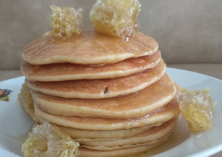 Honeycomb Pancakes recipe