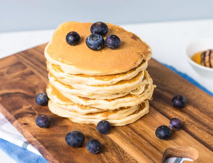 Honeycomb Pancakes