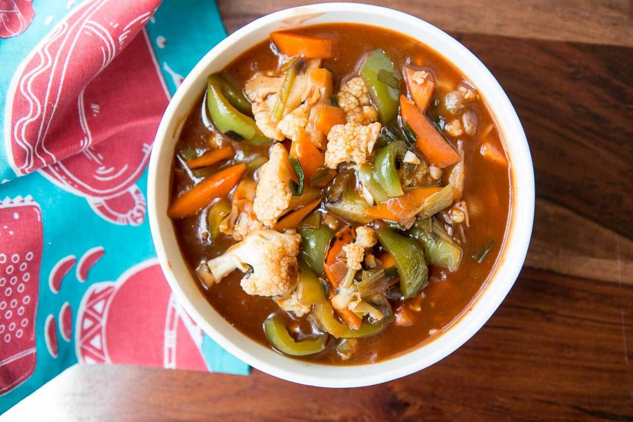 Spicy Szechuan Vegetables recipe