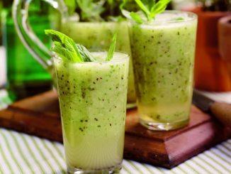 Kiwi Mint Lemonade Delight