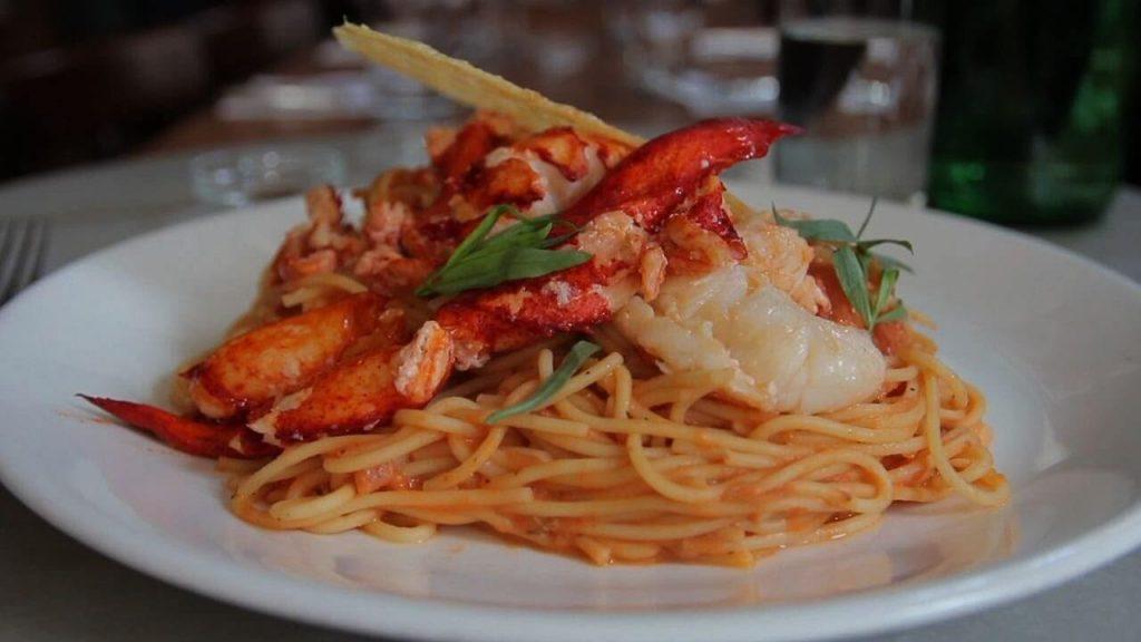 Lobster Spaghetti Pasta
