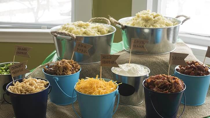 Mashed Potato Bar recipe