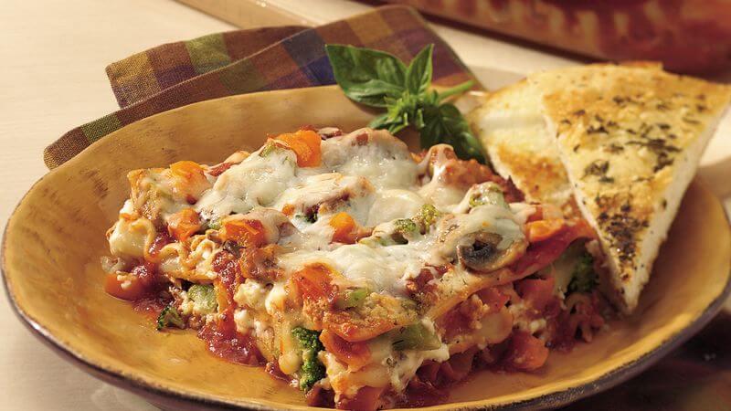Mediterranean Lasagna recipe