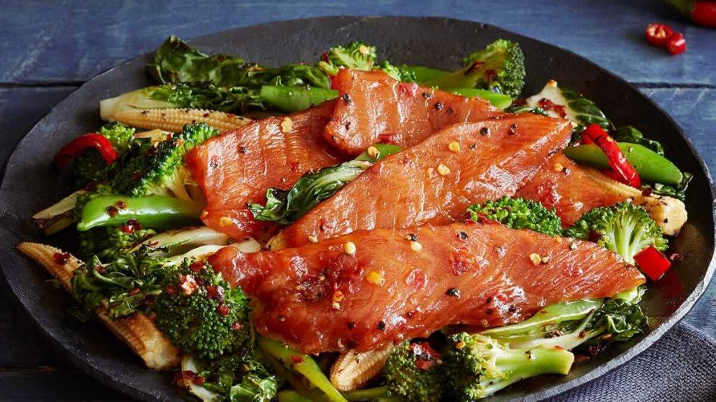 Salmon Stir Fry recipe