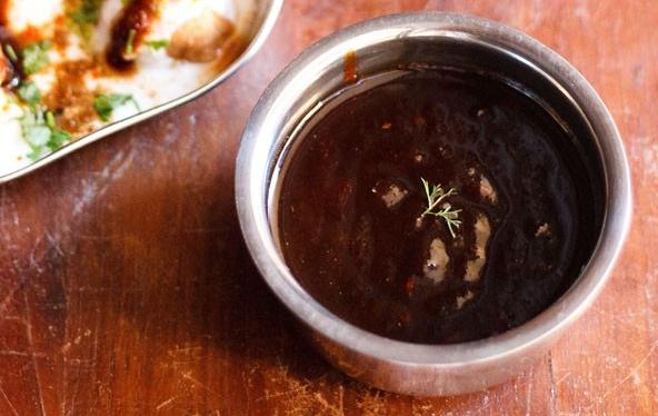 Tamarind and Jaggery Chutney recipe