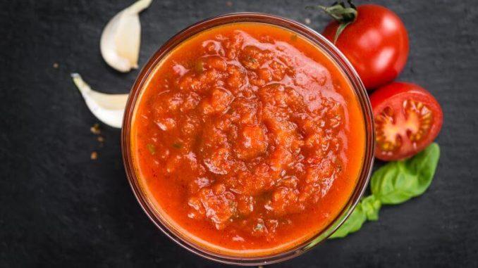 Tomato Basil Pizza Sauce