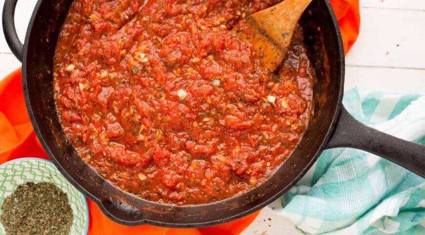Tomato Basil Pizza Sauce recipe