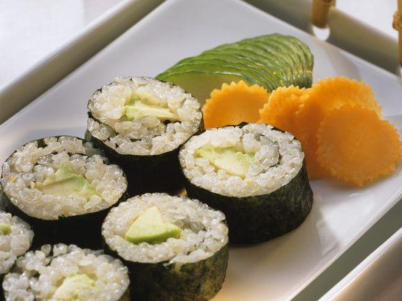 Avocado Sushi recipe