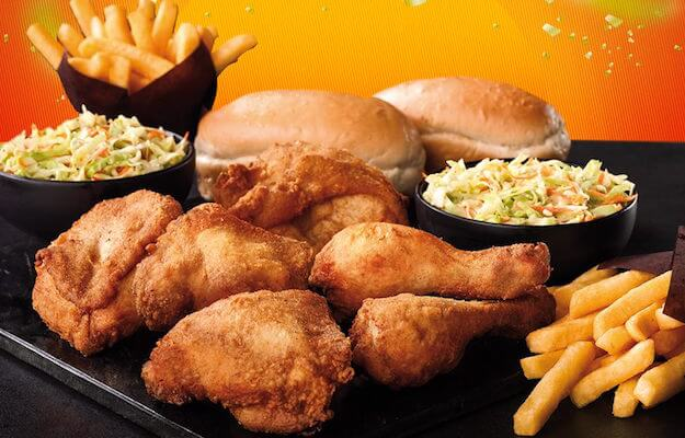 Chicken Licken menu