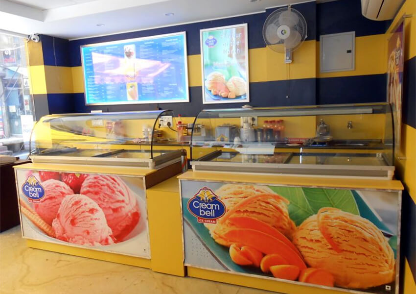 Creambell Ice Cream Franchise