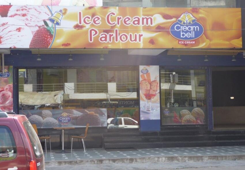 Creambell Ice Cream store