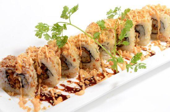 Crunchy Sushi Rolls recipe