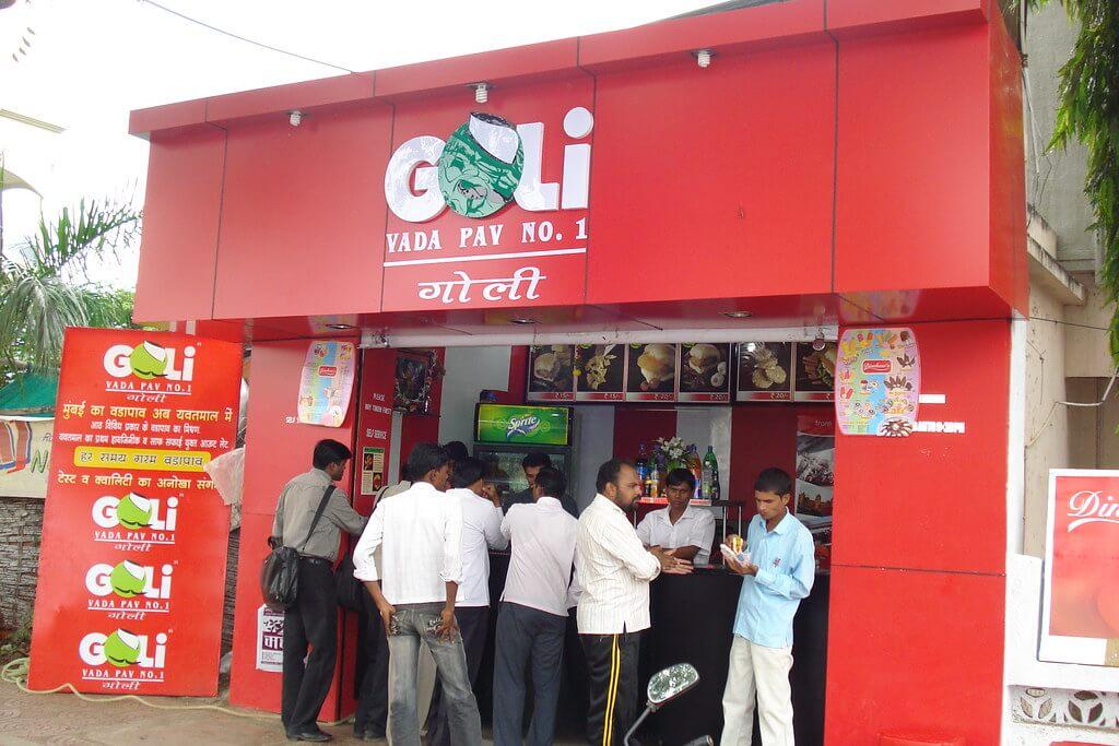 Goli Vada Pav franchise
