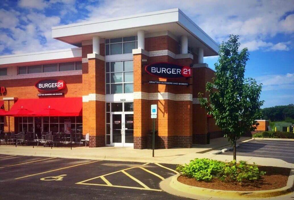 Hero Certified Burger store