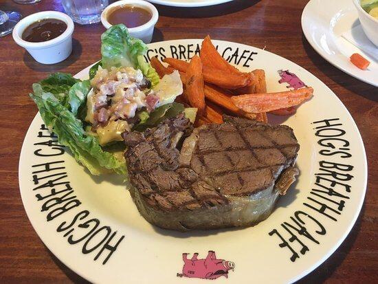 Hog's Breath Cafe menu