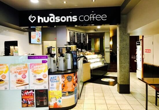 Hudsons Coffee store