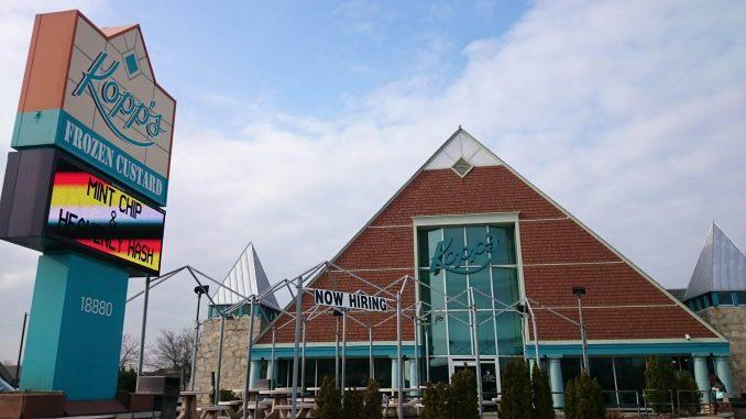 Kopp's Frozen Custard store