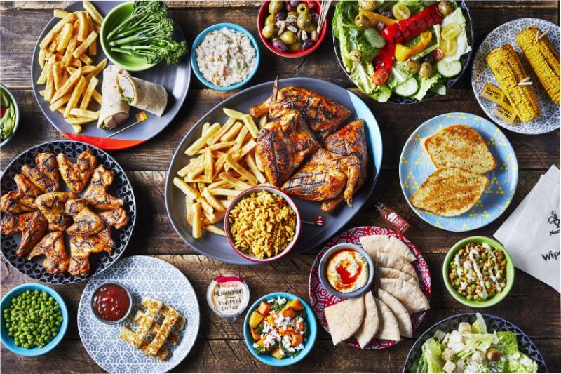 Nando's menu