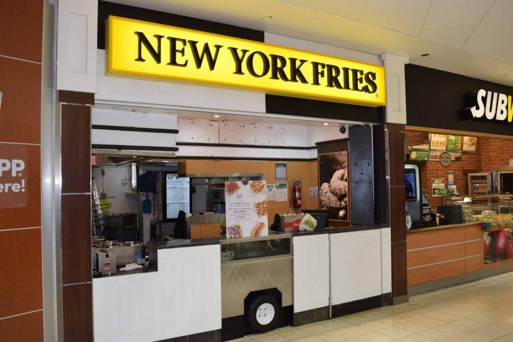 New York Fries franchise