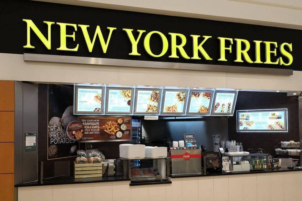 New York Fries store