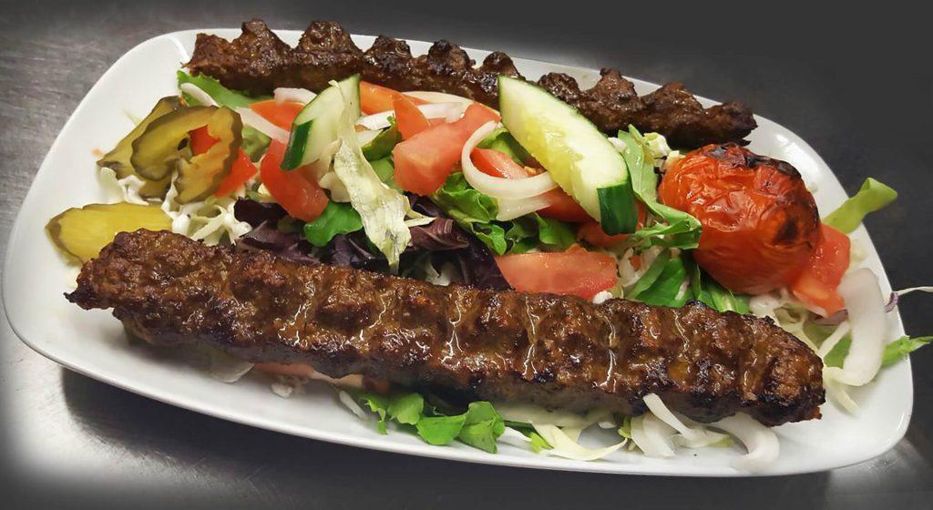 Uncle Tony's Kebabs menu
