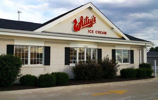Whitey's Ice Cream stores