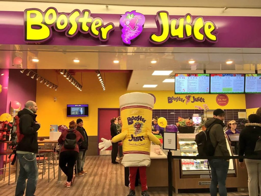 Booster Juice store