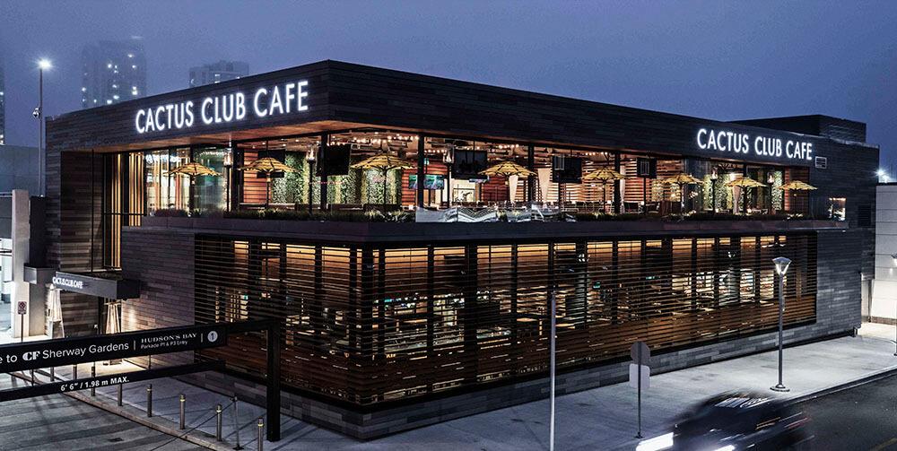 Cactus Club Cafe franchise