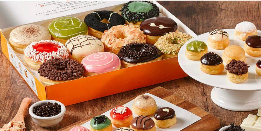 JCO Donuts Menu