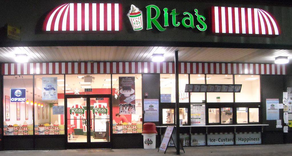Rita's Italian Ice Cream Franchise