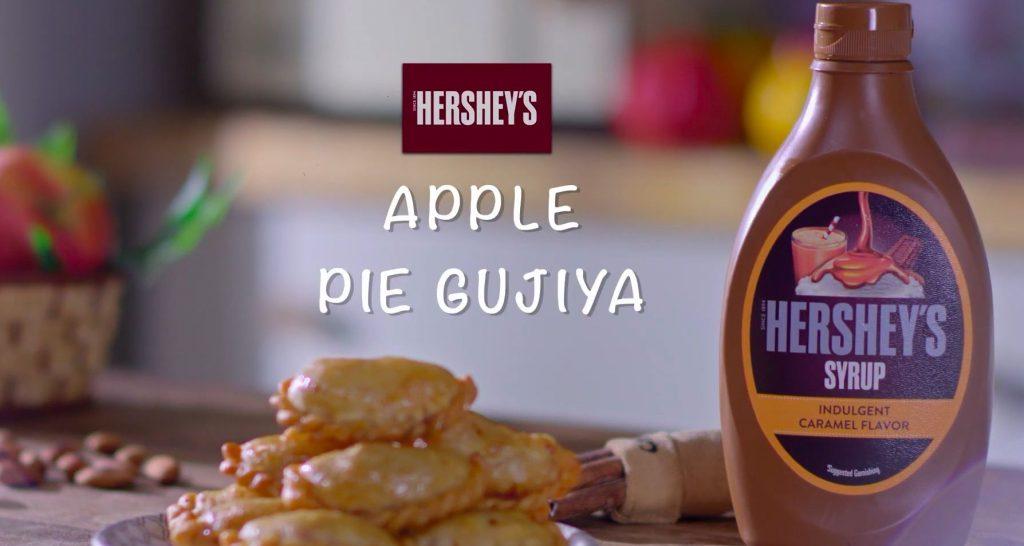 Apple Pie Gujiya