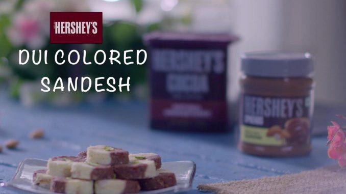 Dui Colored Sandesh recipe