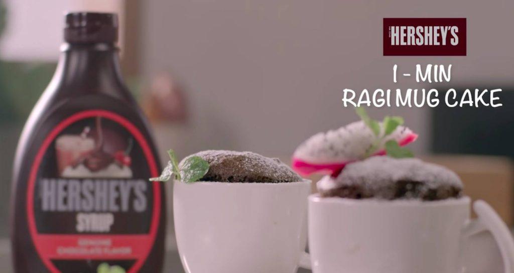 Ragi Mug Cake