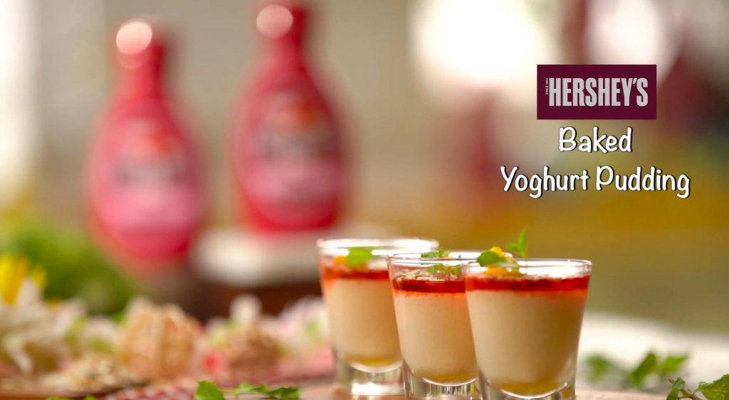 Baked Yoghurt Pudding Recipe