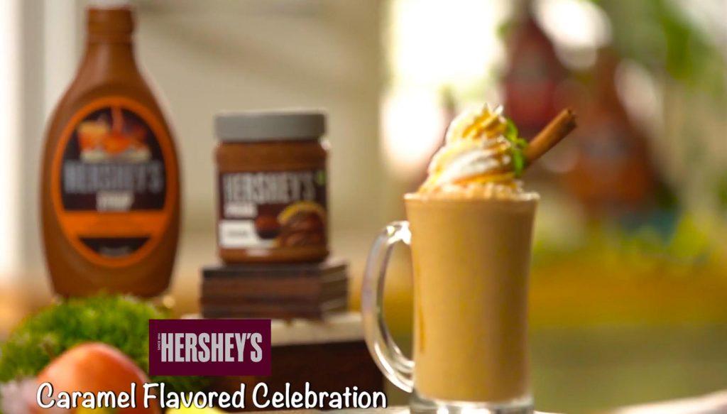 Hershey's Caramel Flavored Celebrations recipe