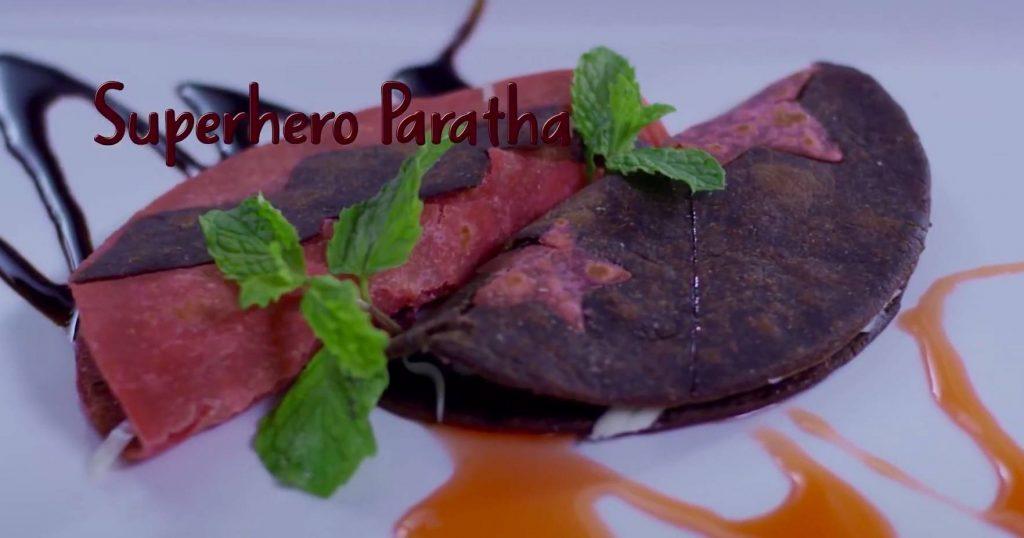 Hershey's Superhero Paratha