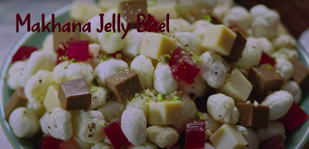 Makhana Jelly Bhel