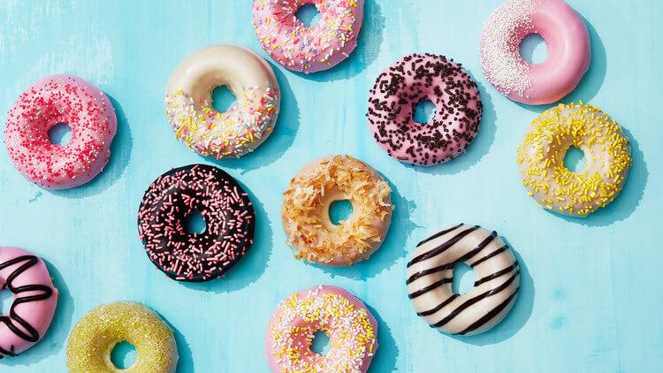 The Donut Diner menu