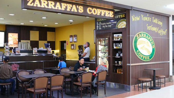 Zarraffa's Coffee store