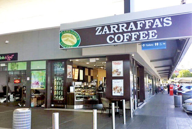 Zarraffa's coffee franchise