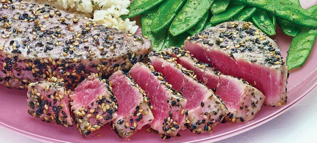 Ahi Tuna Steaks recipe