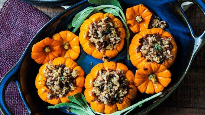 Baked Mini Pumpkins