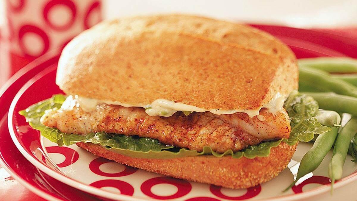 Catfish Sandwich recipe