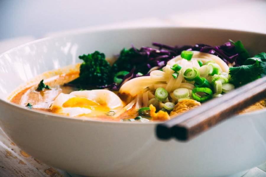 Coconut Curry Noodle Bowl recipe