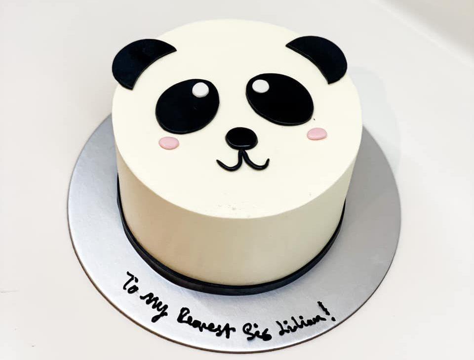Panda Cake recipe