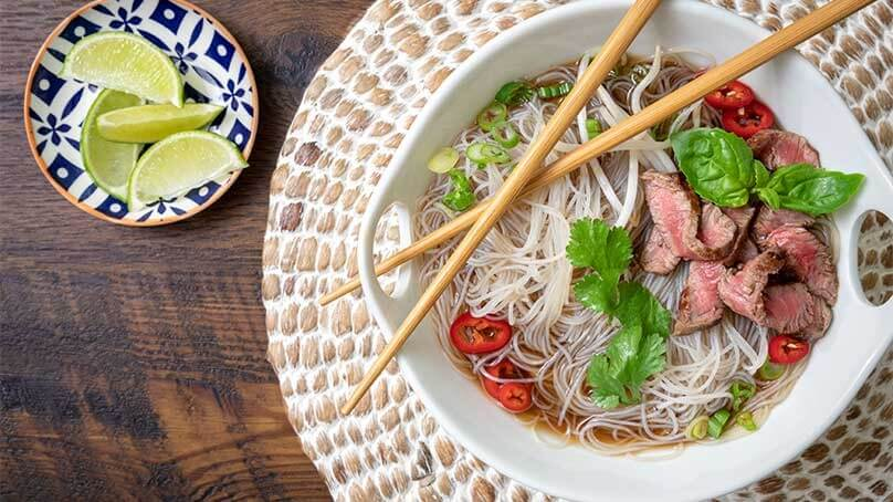 Pho Rice Noodles recipe